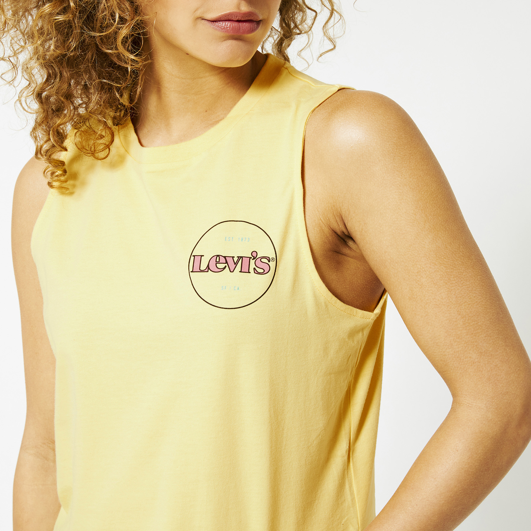 top Graphic band tank