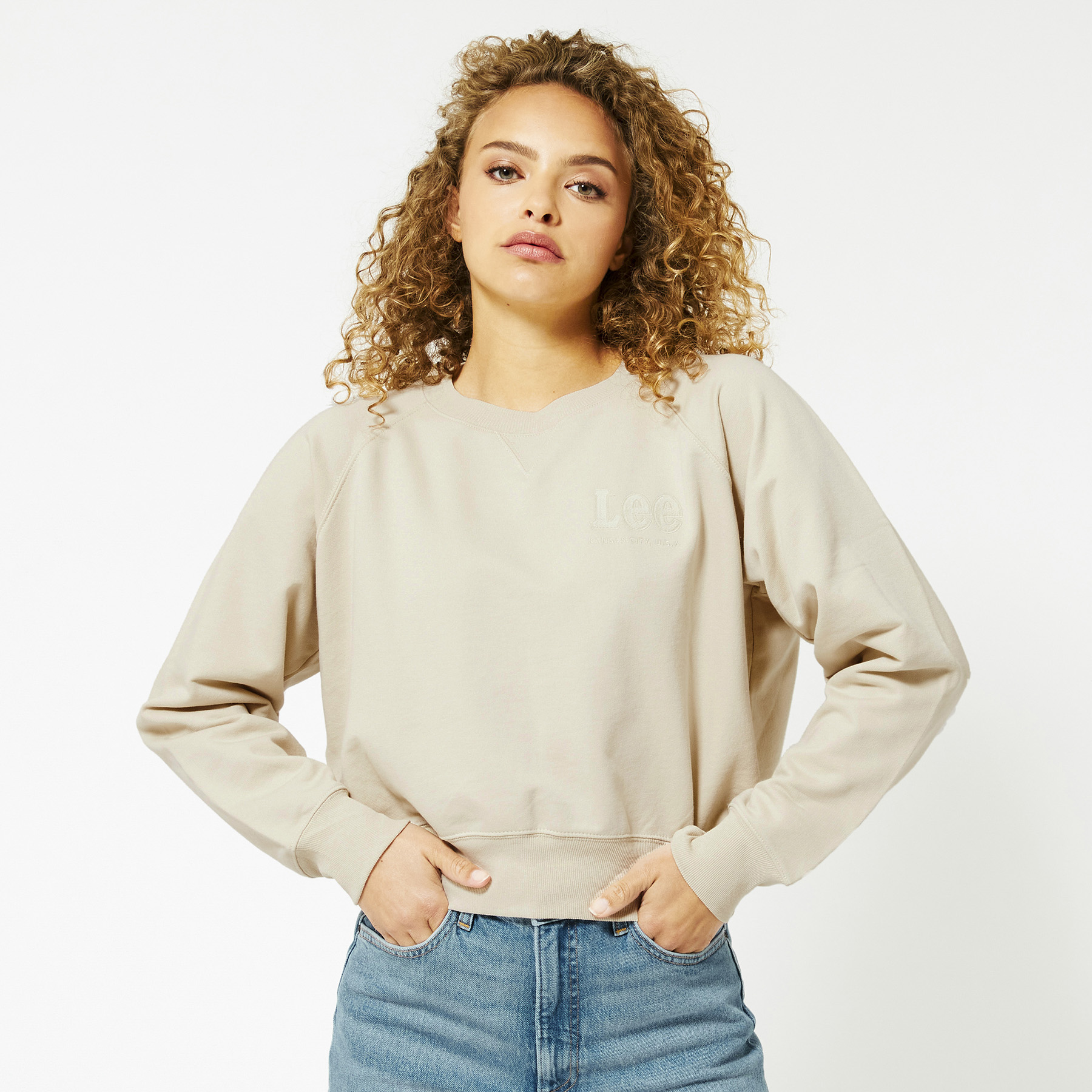 Sweater Vintage Cropped Sweat
