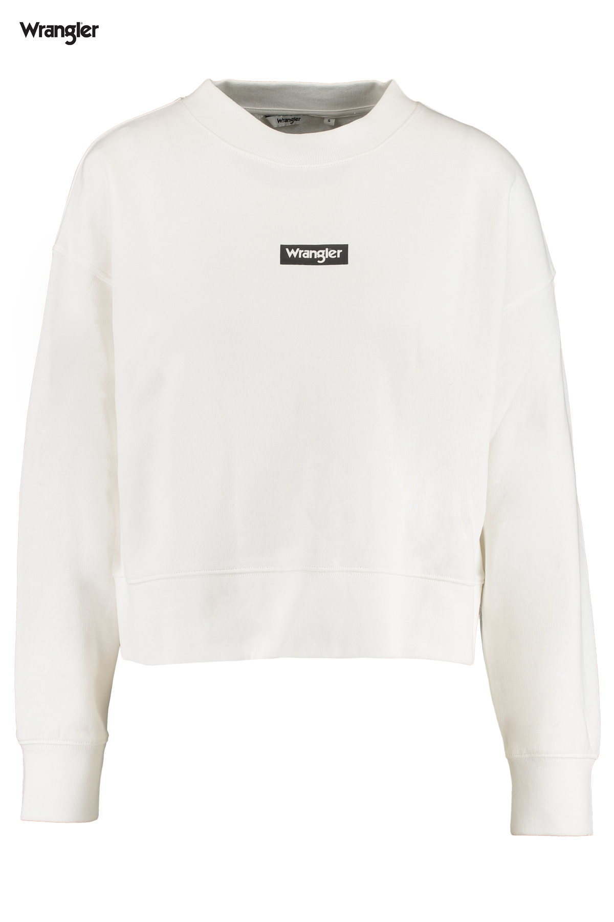 Sweater High rib boxy retro