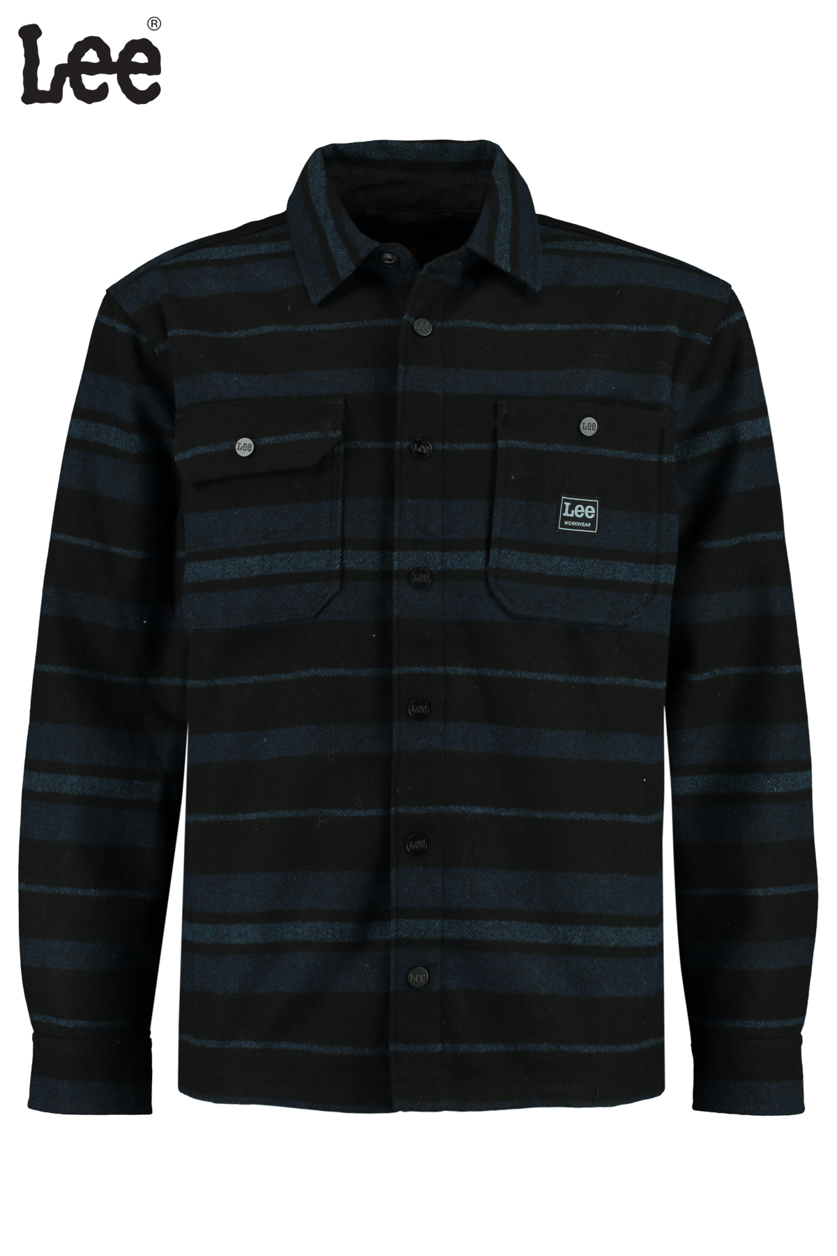 Overhemd Box pocket overshirt
