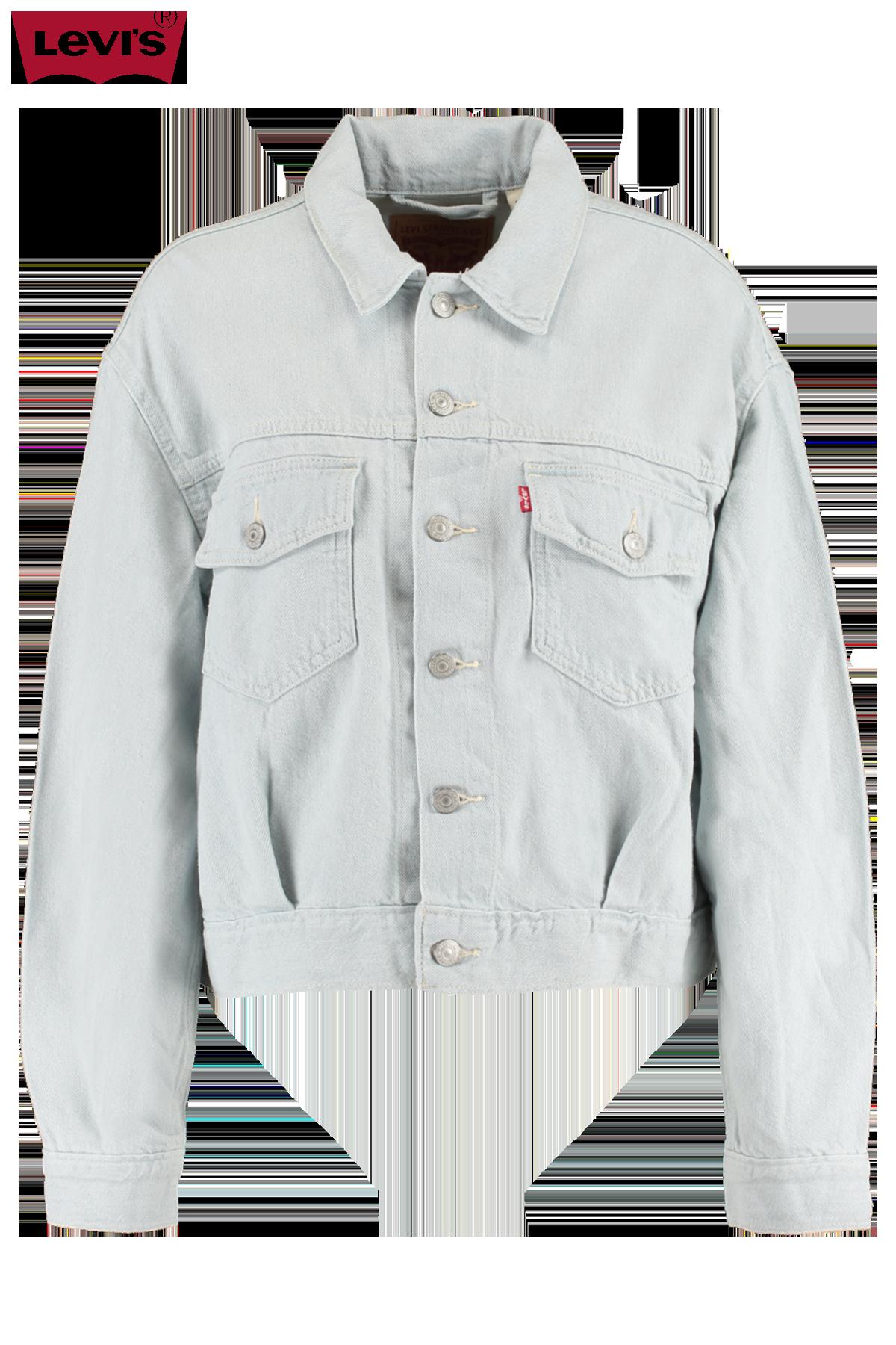 Denim jacket Oversized utility trucker