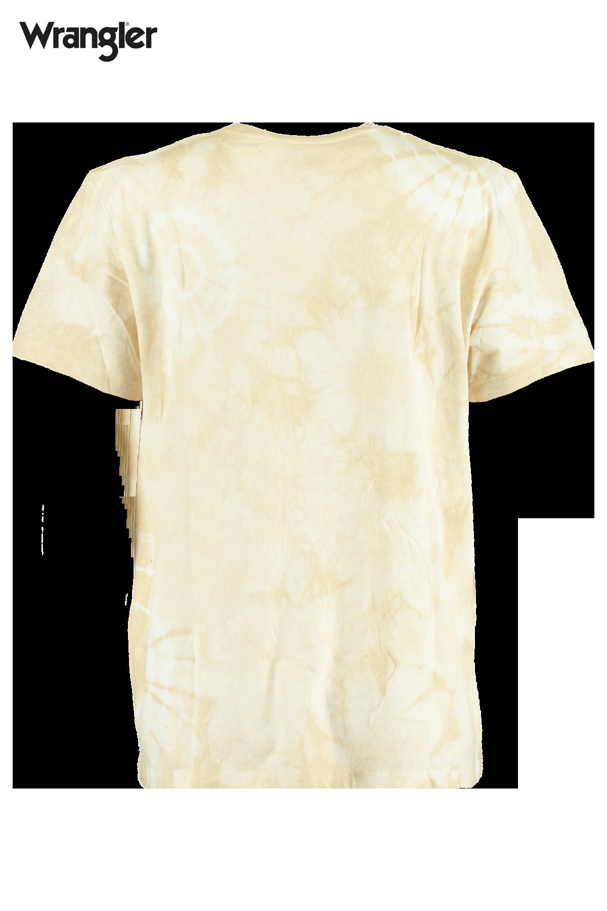 Short sleeve tie dye tee